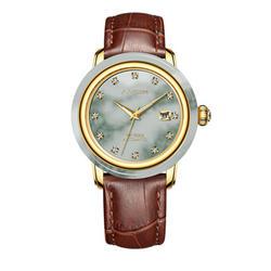 2019 новые парные часы Роскошные деловые мужские наручные часы механические Автоматические 18 K чистого золота алмазные классические