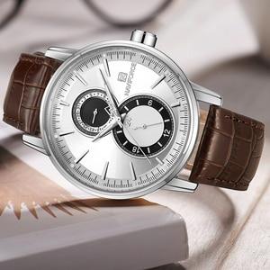 Image 2 - 2018 New Men Watch NAVIFORCE Top Brand Luxury Mens Quartz Date Clock Male Leather Business Sport Watches Relogio Masculino
