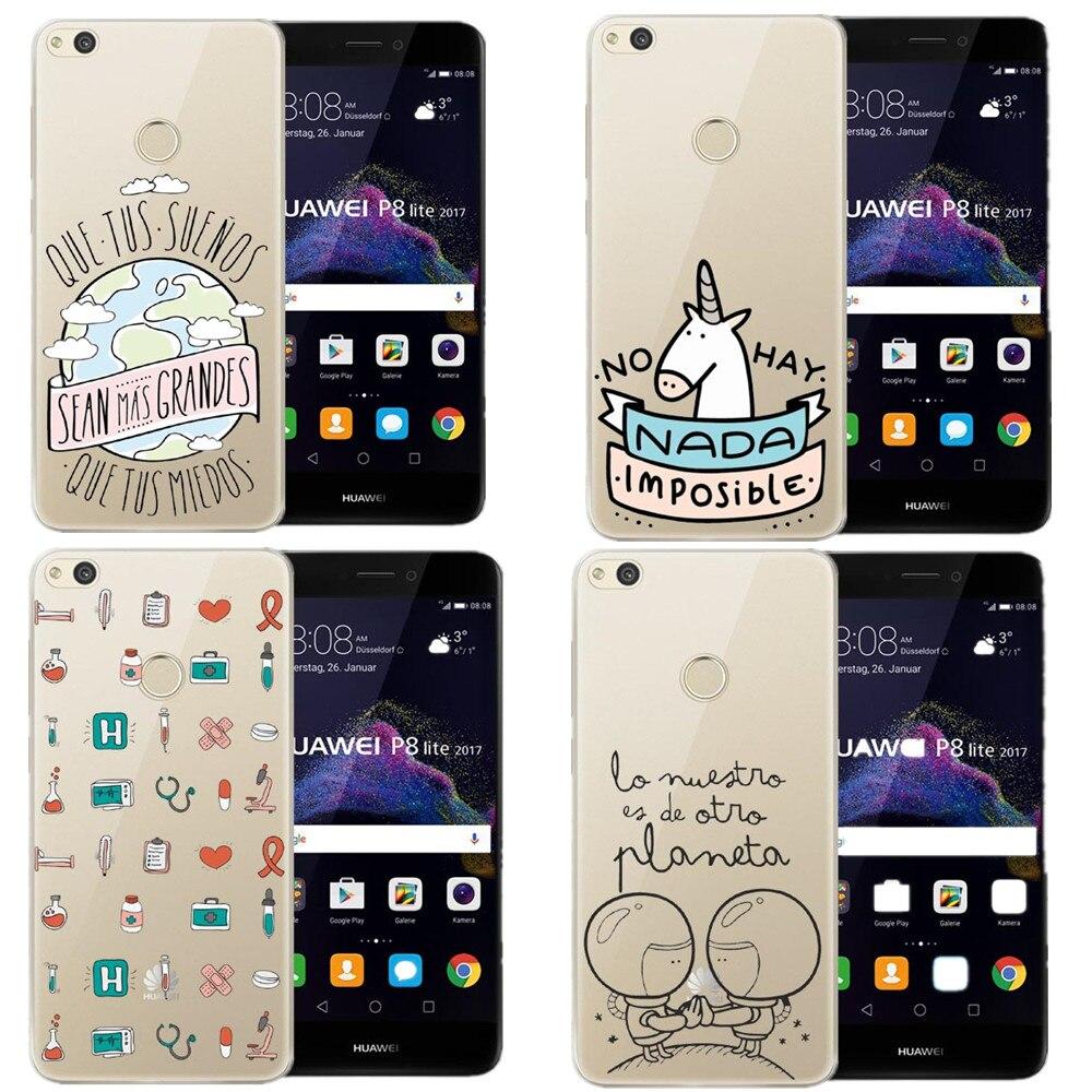 Mr maravillosa serie de dibujos animados unicornio suave del teléfono de tpu cas