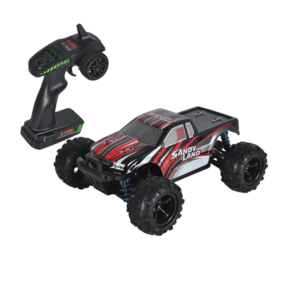 все цены на RC Car 9300 Remote Control Car 2.4G Scale Buggy RC 1/18 Four-wheel 4WD 50KM/H High Speed Electronic Toy Truck Off-Road Vehicle