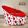 2016 Promoção Mesa E Cadeira Set Ywxuege Pontos Vermelhos Por Atacado New Born Baby Assento Do Sofá Beanbags Cadeira Portátil Seguro Original
