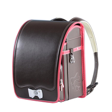 High Quality Kid PU Solid Children's school Bag Brand Backpack For Boy