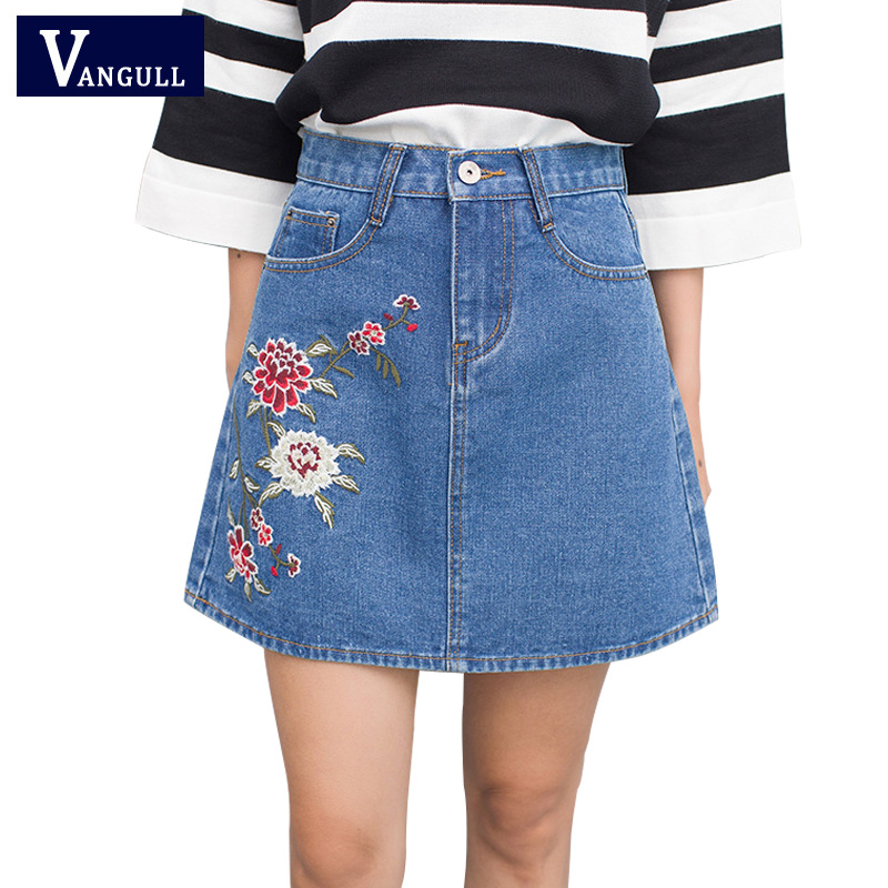 Short Jean Skirt Promotion-Shop for Promotional Short Jean Skirt ...