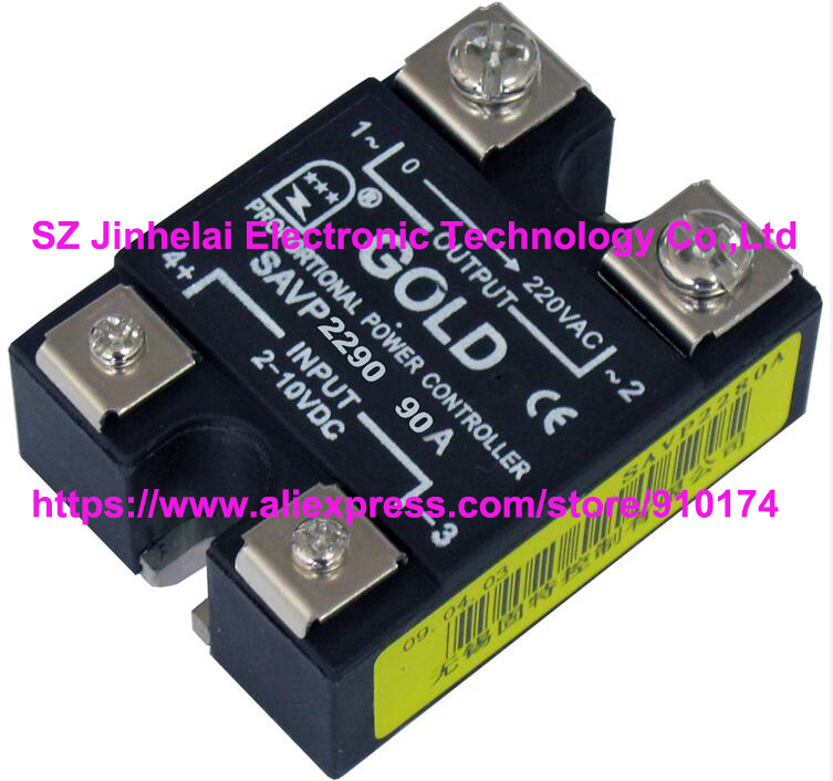 New and original SAVP2290 GOLD Single-phase ac solid state relay 220VAC 90A nce6990 to 220 69v 90a