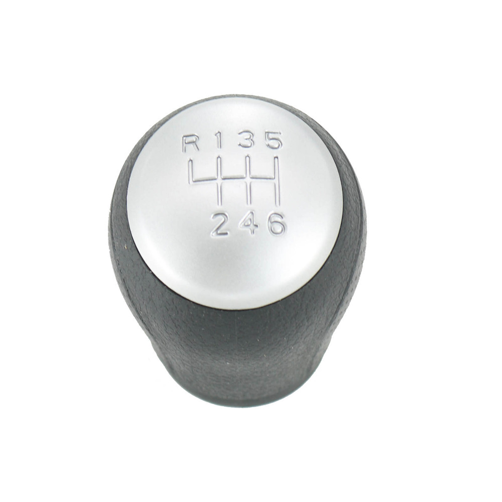 6 Gear Shift Knob Car-Styling For NISSAN QASHQAI I J10 X-trail 2006 2007 2008 2009 2010 2011 2012 2013 QASHQAI II MT Shift Knob mt gear stick cover shift car special chrome plating auto car accessories car styling for kia rio k2 2009 2010 2011 2012