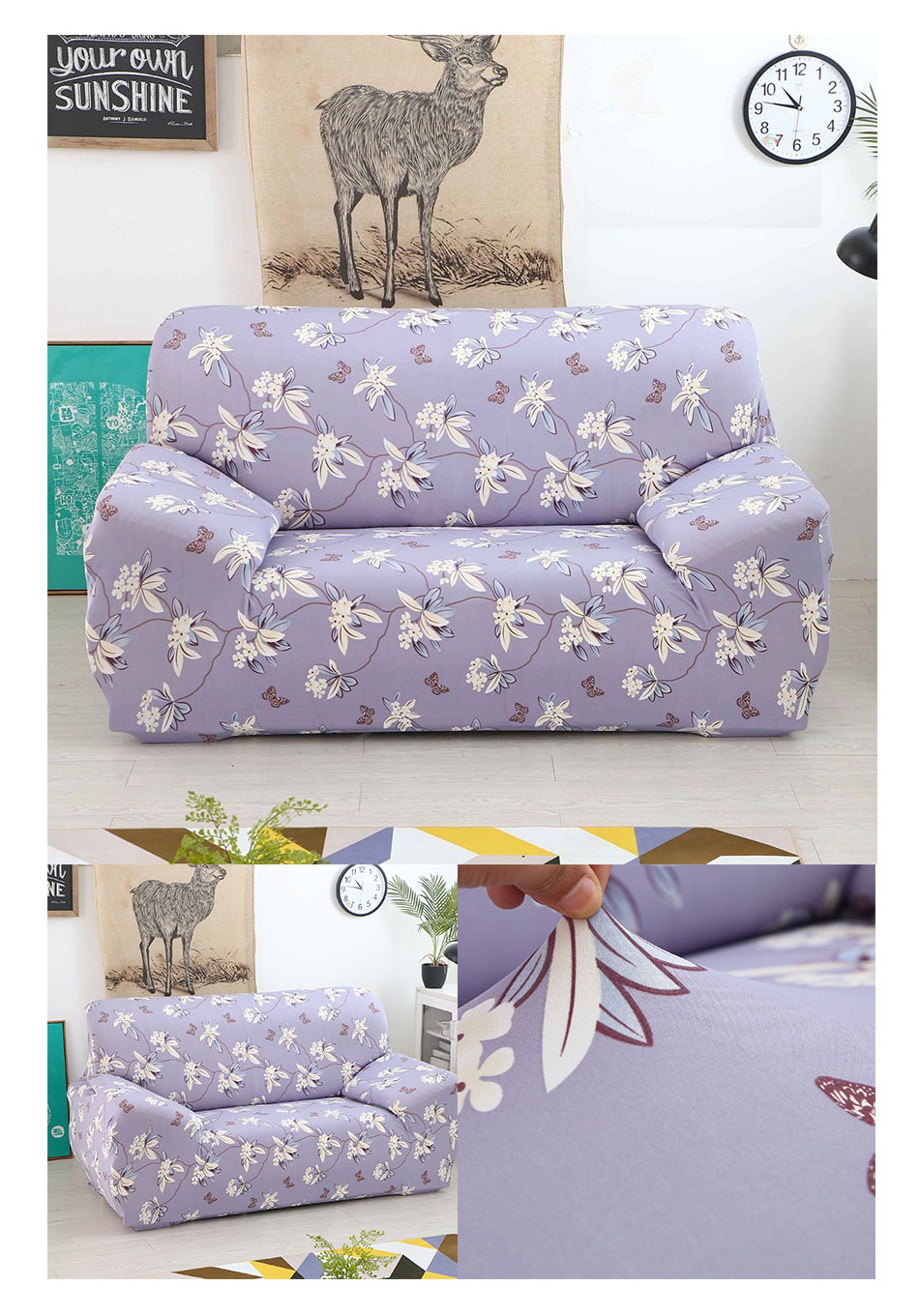 Super 2Pc Slipcover Stretch Four Season Sofa Covers Furniture Ncnpc Chair Design For Home Ncnpcorg