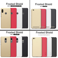 Купить с кэшбэком Nillkin Frosted Shield Case Back Cover For xiaomi redmi 3/redmi 3 pro/note 3 pro PC matte case For xiaomi mi 5 pro mi5 prime
