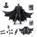 NEW 16cm Batman Action Figure Justice League Batman Mobile Action Figure Toys The Dark Knight Rises Batman Christmas Doll Toy