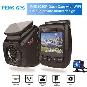 2019 New Mini Car DVR Camera Wifi Dashcam Full HD 1080P Video Registrator Recorder G-sensor Night Vision Dash CamAuto Recorder