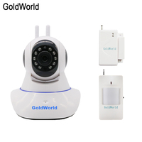 Wireless Door Gap PIR Wifi 720P IP Camera For Home Security Alarm System Wifi Alarm System