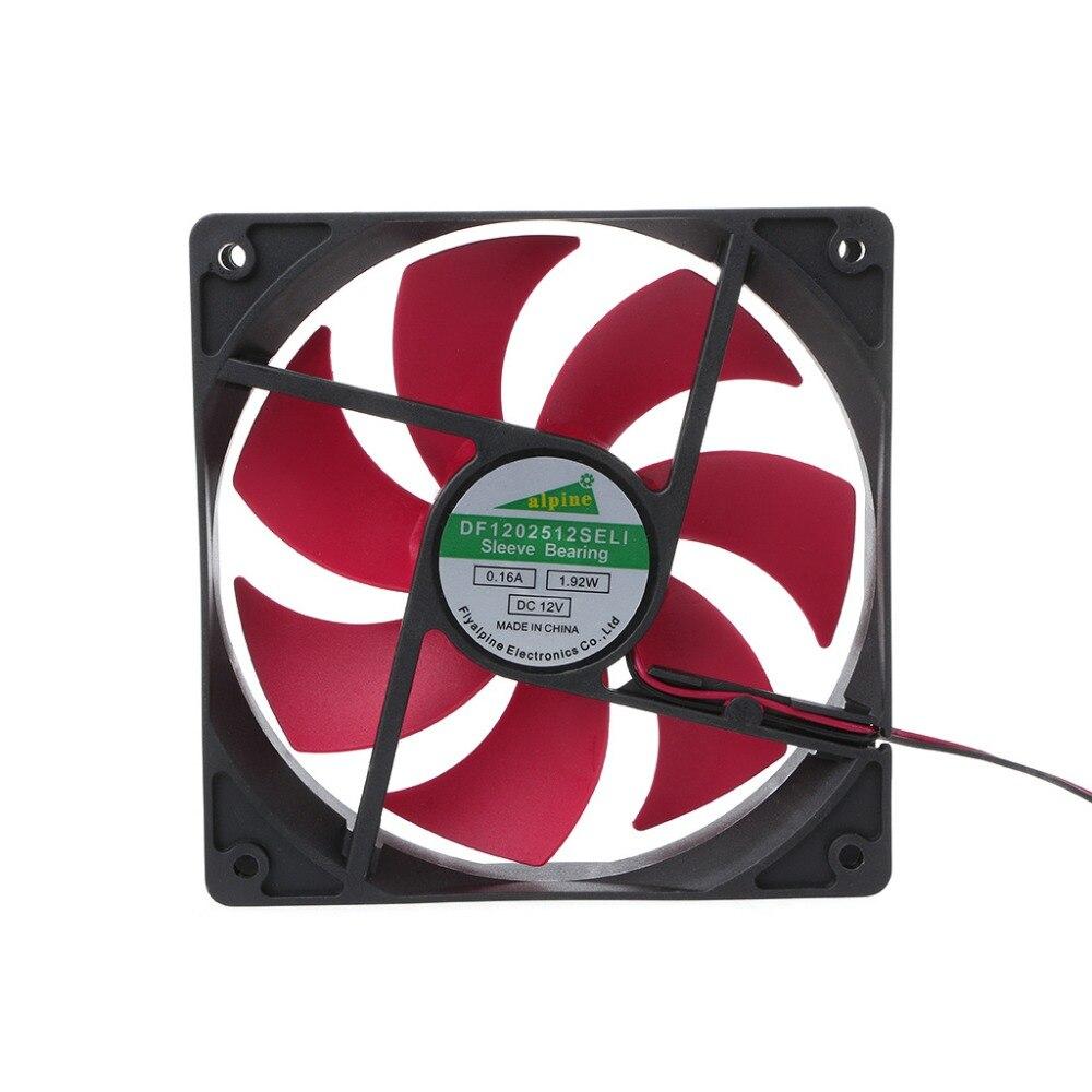 Mini 120x120x25mm DC 12 V 0.16A 2 broches 7-lame ventilateur de refroidissement ventilateur refroidisseur 12025Mini 120x120x25mm DC 12 V 0.16A 2 broches 7-lame ventilateur de refroidissement ventilateur refroidisseur 12025