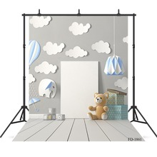 Sfondo di fotografia di bordo di parete sfondo di pavimento in legno per servizio fotografico bambini profumo crema regalo fondali di stoffa Studio fotografico