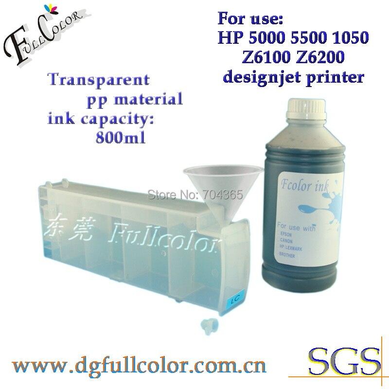 Идеальный Printting решение СНПЧ картридж для HP5000 HP5500 многоразового картридж с чипом декодер