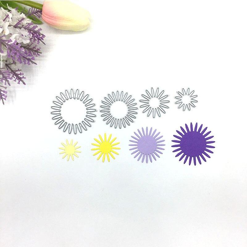 Julyarts 4pcs Flower Dies Metal Cutting New 2019 For Scrapbooking Card Making Craft Sales