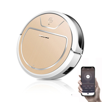 MOLISU V8S PRO robot vacuum cleaner with App control Wet and Dry Sweeping and Mopping 2000pa suction Autocharge Robot Aspirador|Vacuum Cleaners|Home Appliances -