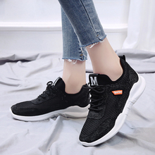 Women Sneakers New 2019 Spring Ladies Casual Comfortable Flats Female Breathable Soft Bottom White Krasovki