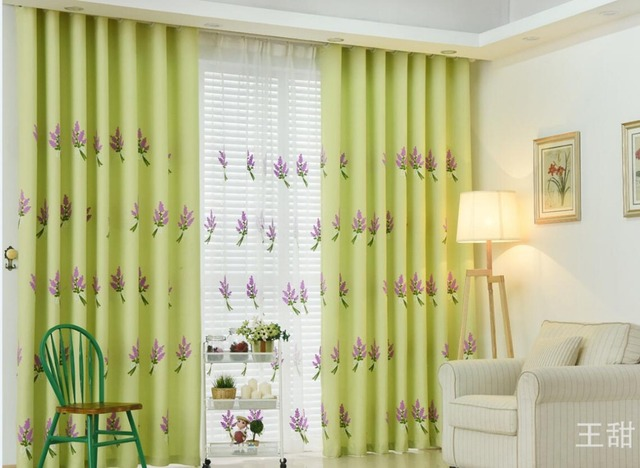 Modern Elegent Pink Green Blackout Window Curtains For Kids S Bedding Room Living D Cortinas