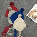 Nueva Moda de Primavera y Otoño de Algodón de Invierno 0-6 Años Del Bebé Del Sombrero Muchachos de las muchachas Infantiles de Los Niños Gorras de Color Caramelo Precioso Nórdico estilo