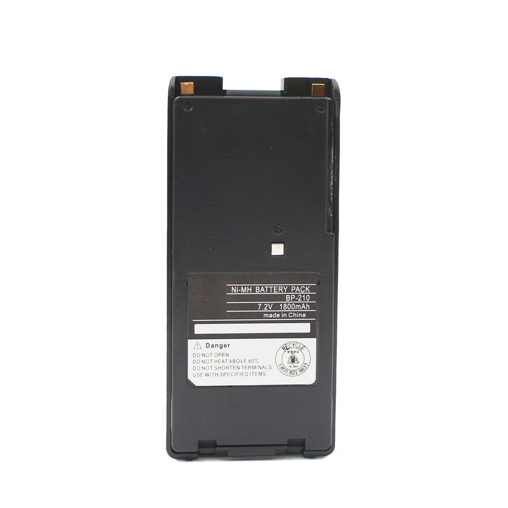 BP210 BP-210 1800mAh NI-MH Battery For Icom IC-F30GT IC-F40GT IC-F3GT IC-V8Radio