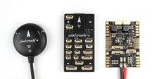 Оригинальный Holybro Pixhawk 4 PX4 игровые джойстики STM32F765 Accel/гироскопа Ublox Neo-M8N gps мощность модуль Pixhawk PM07 Fr FPV системы Дрон на ру
