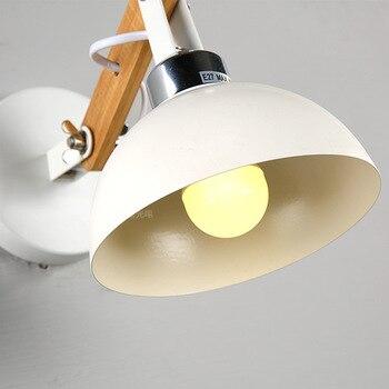 A1 настенный светильник прикроватная тумбочка для спальни новый простоту современный американский творческий подкладке крышка лампы Led MZ15
