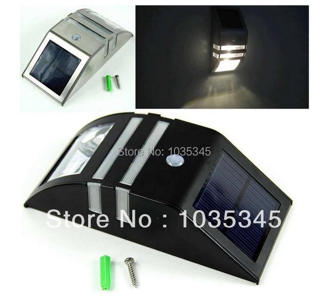 Solar Power Motion Sensor Super Bright LED Light Garden Wall PIR Lamp Solar  Light Wall Light