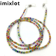 imixlot New Anti-skid Colorful Beaded Hanging Glasses Chain Children Lanyard Cord Eyewear