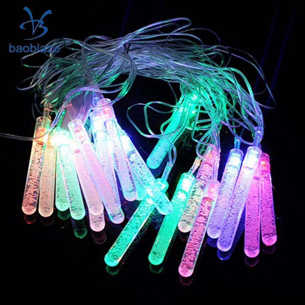 4 Meter 20 LED RGB String Light Chain Wedding Party Christmas Decor With EU Plug 220V