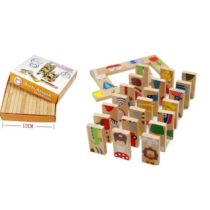 Aliexpress Buy 28pcs Blocks Children Standard Domino