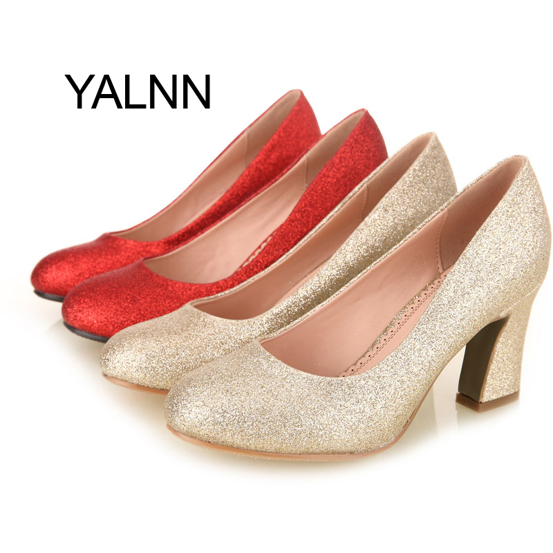 Online Get Cheap Gold Pumps Heels -Aliexpress.com | Alibaba Group