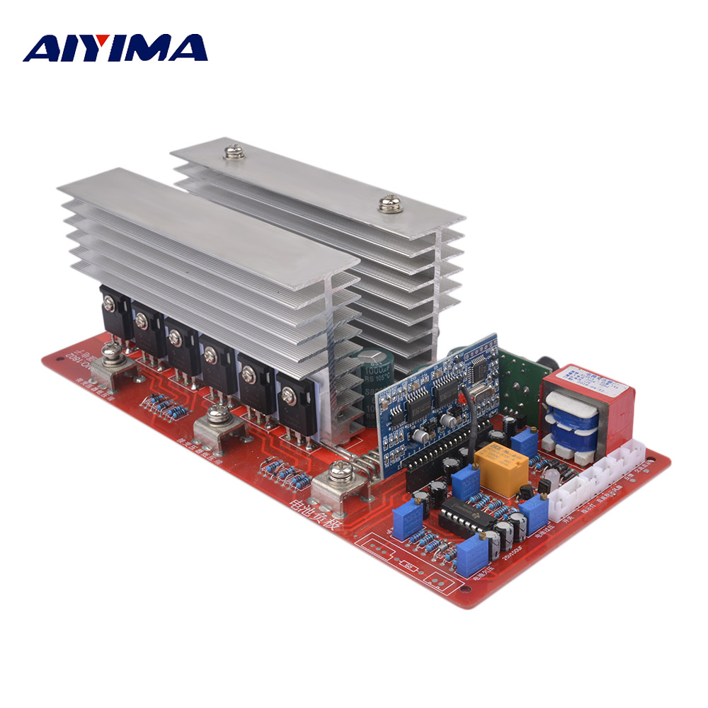 Aiyima 1Pc 48V High Power Pure Sine Wave Frequency Inverter Drives Main Board The Full Power 5000W Finished Plate Suite 12v24v36v48v60v drive board pcb of the main board of a pure sinusoidal high power power frequency transformer inverter
