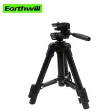 50cm Portable digital camera tripod three single micro mobile phone monopod