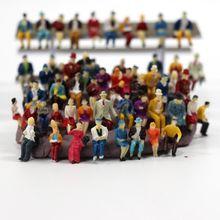 Игрушки 50 мест соотношение 1: 87 Миниатюрная кукла модель статуя пейзаж может собрать детские игрушки