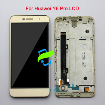 5.0 High Quality For Huawei Y6 Pro TIT-U02 TIT-AL00 /G Power LCD Display Touch Screen Digitizer w Frame Assembly For Y6 PRO image