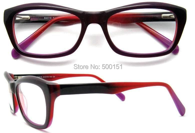 1adda7e87cc High Gread Acetate Eyeglasses Prescription Optical Frame Oculos de ...