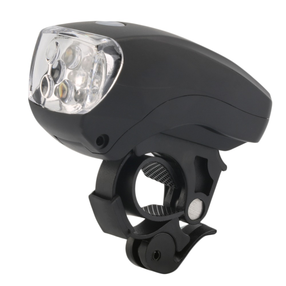 Cycling Bike Bicycle Super Bright 5 LED Front Head Light Lamp 3 Modes NEW