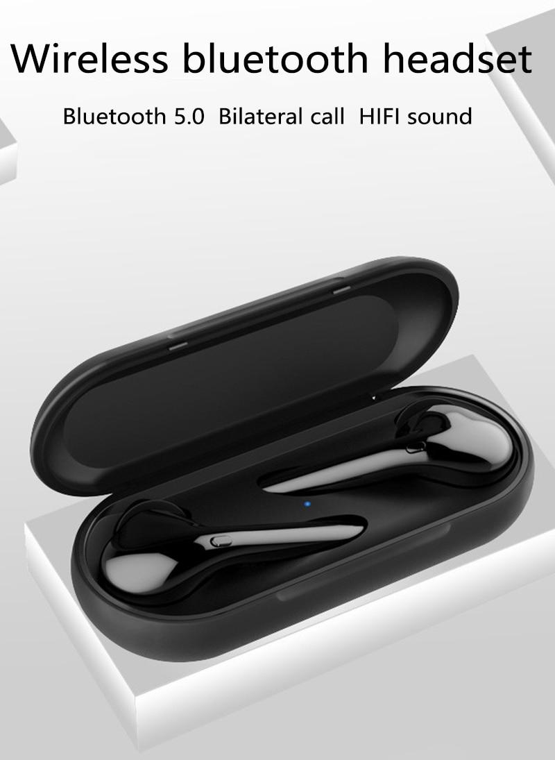 Tws Bluetooth5 0 Touch earphone in ear wireless IPX5 waterproof sweat proof Earphone Bilateral microphone Game music ear plugs in Bluetooth Earphones Headphones from Consumer Electronics