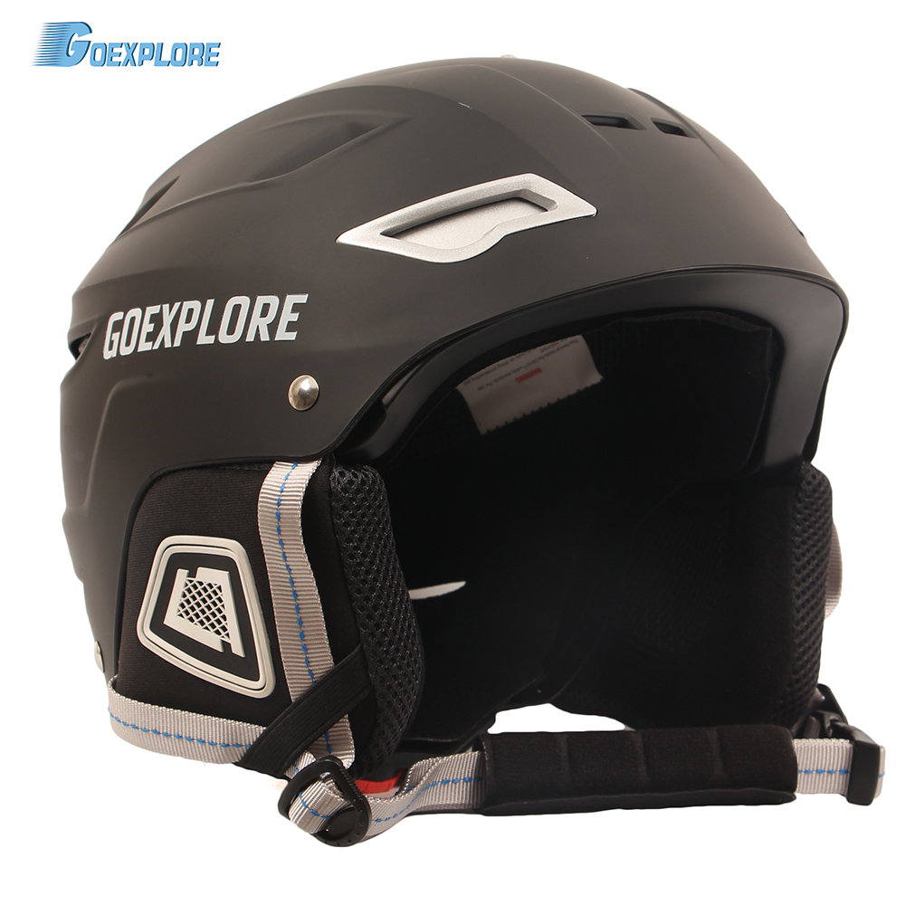 все цены на Goexplore Ski Helmet Ultralight Women ABS+EPS CE EN-1077 Skiing Helmet Adult Outdoor Sports Skateboard Snowboard Helmet Men