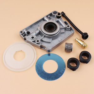 Image 3 - Oil Pump Worm Gear Dust Cover Washer Hose Filter Kit Fit HUSQVARNA 61 66 266 268 272 XP 266XP 268XP 272XP Chainsaw Parts
