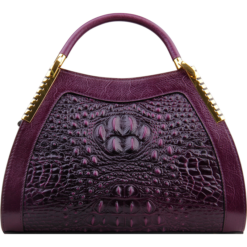 2018 Famous Brand Designer Women Handbag Genuine Leather Luxury Alligator Pattern Female Shoulder Meaaenger Bag Bolsa Feminina