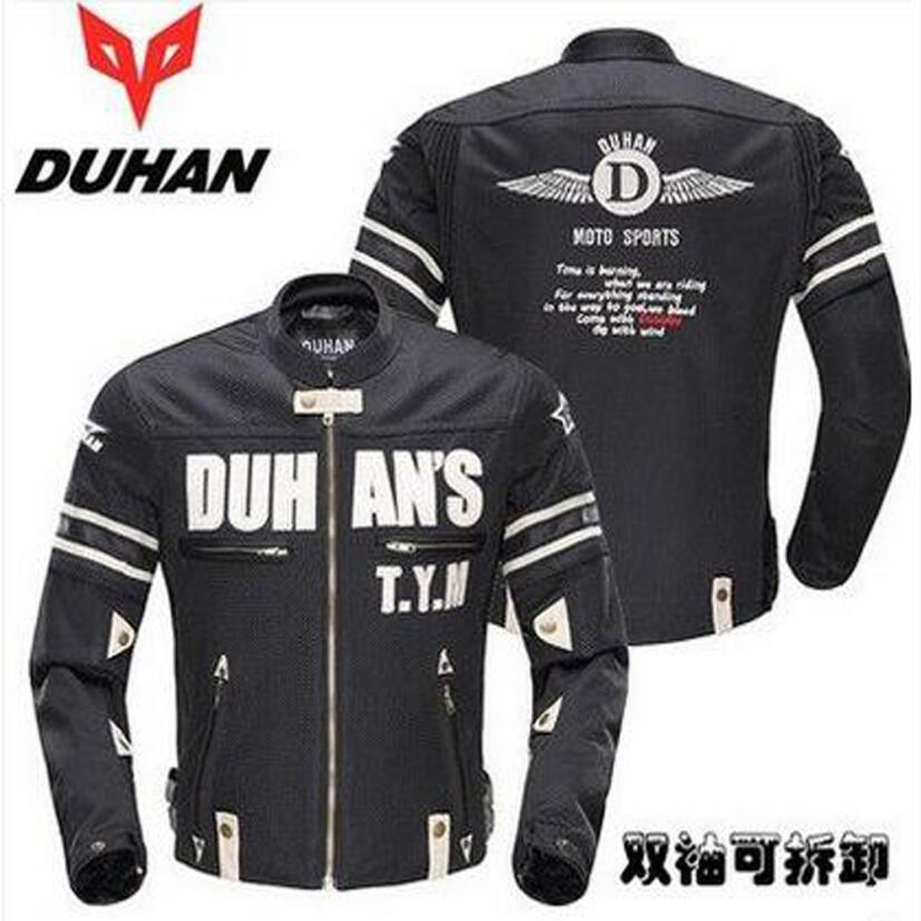 DUHAN D-103 Summer Mesh Breathable motorcycle riding clothes motorbike  locomotive Men racing jackets