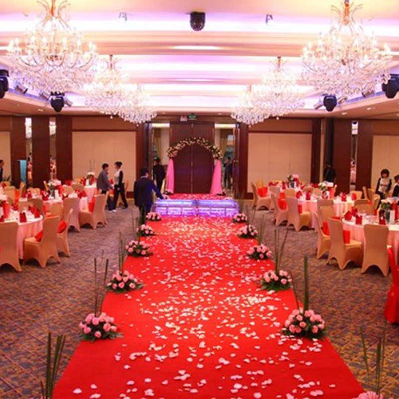 100 個の人工ローズフラワー花びらシルク Petalos デ · ロサ · デ · ボダ結婚式パーティー工芸品お祝い装飾マリアージュ用品の装飾