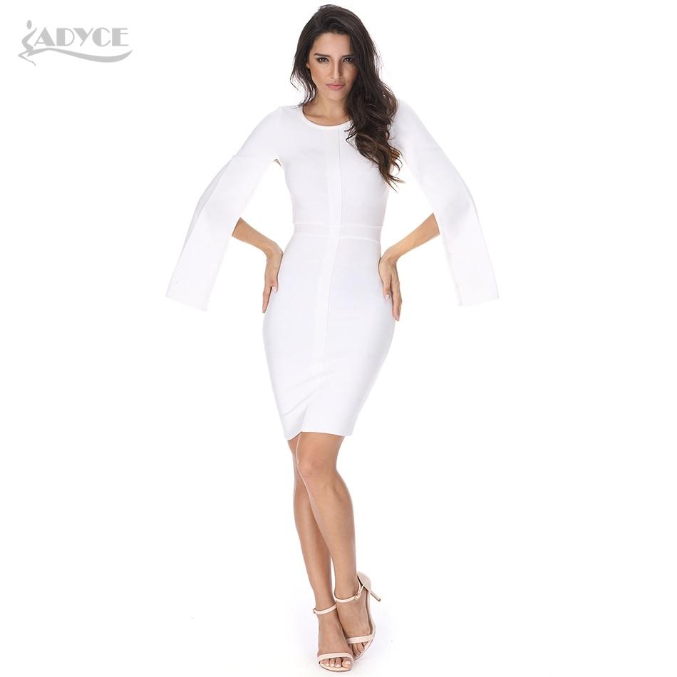 Celebrity Women Vestidos White
