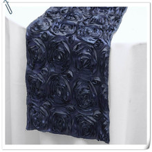 Hot Sale ! Top Quality embroidery 20pcs Navy Blue Table Runners 30x275cm For Wedding &Banquet Decoration FREE SHIPPING MARIOUS