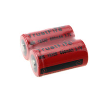 10pcs/lot TrustFire IMR 18350 3.7V 800mAh Rechargeable Lithium Battery Batteries For E-cigarettes Flashlights