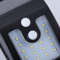 IP65 LED Solar Light Wall Lamps Landscape Lighting Solar Panel Battery Seneor Outdoor Waterproof Garden Decoration