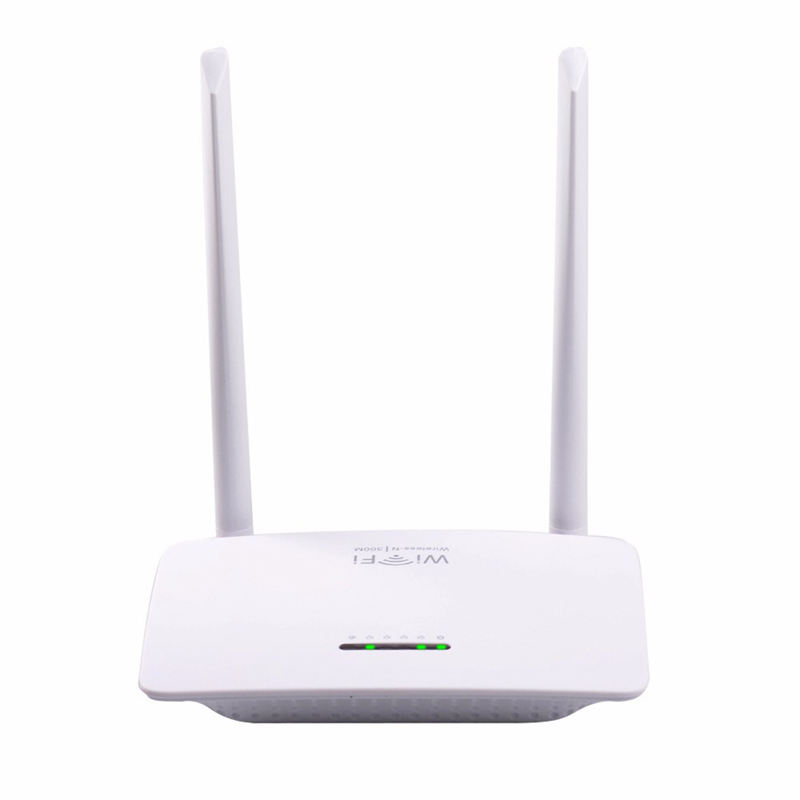 PIX-LINK Wireless Router High Speed Up To 300 Mbps 802.11N Two Antennas Wireless-N Router Server Eu Plug