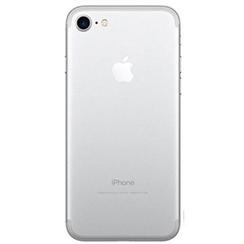 Разблокированный Apple iPhone 7, функция отпечатков пальцев, 4G, LTE, глобальная 32/128 ГБ Встроенная память IOS мобильного телефона 12.0MP gps Quad-Core телефон 1960mA - Цвет: silver