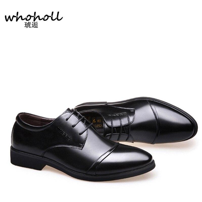 Formelles noir Microfibre Brown Bullock En 2018 Whoholl Pour Habillées Britannique Hommes Style Oxfords De Cuir Chaussures tRpqAqZ