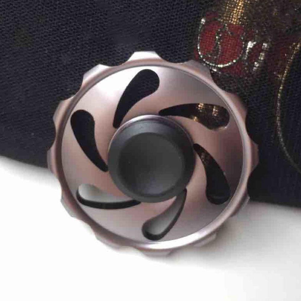 Fidget Spinner Tri Spinner Zinc Hand Spinner Aluminum Alloy Metal Fidget Toy For Autism ADHD EDC Anxiety Stress Adults Kid